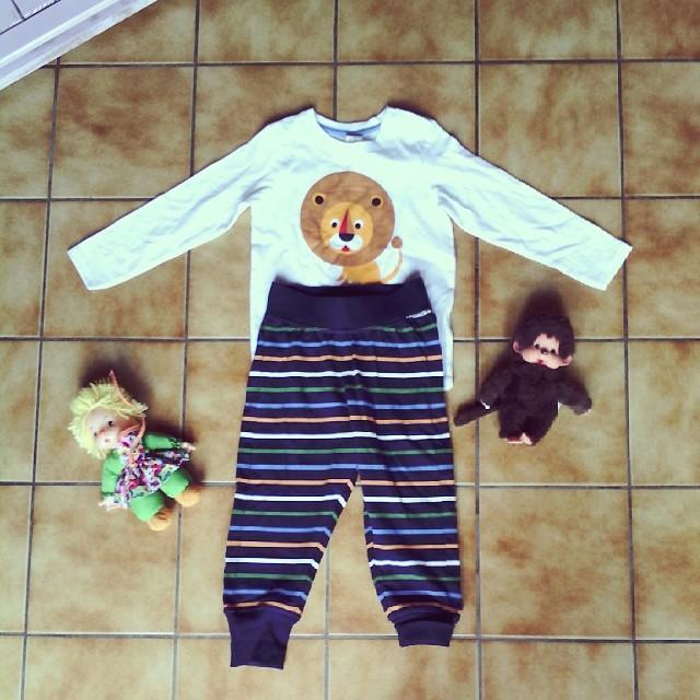 J'assume j'habille néné chez les gars. Mais à 10 euros chez #hetm comment résister. #ootd #ourlittlefamily #france #lion #baby #kiki #vintage