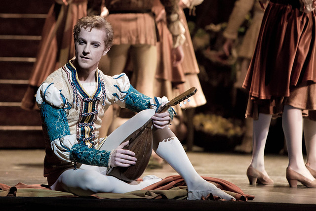 Steven McRae in Romeo and Juliet © Andrej Uspenski