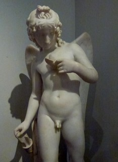 Cupid Tormenting the Soul by John Gibson (1839) marble