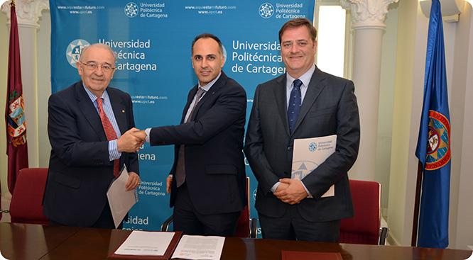 La nueva cátedra de Marnys en la UPCT incorpora a dos becarios y un doctor
