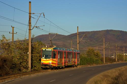 1008 ar00215 achtachser arad ctparad duewag düwag evag essen linie11 m8s romania rumänien strasenbahn streetcar tram trambahn tramvai județularad