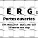 Erg 2017 : Journées Portes Ouvertes
