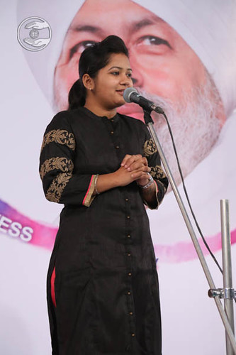 Manali from Ahmednagar, expresses her views