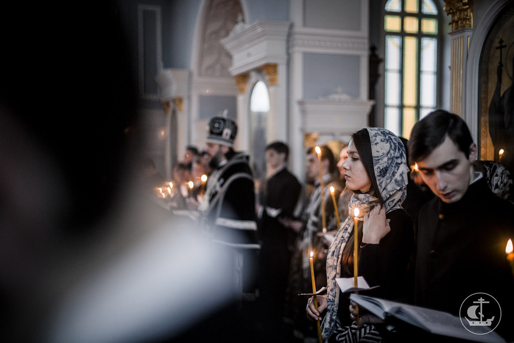 13 апреля 2017, Утреня Великой Пятницы / 13 April 2017, Matins of Holy Friday
