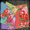 secret garden pack 1 - fabric