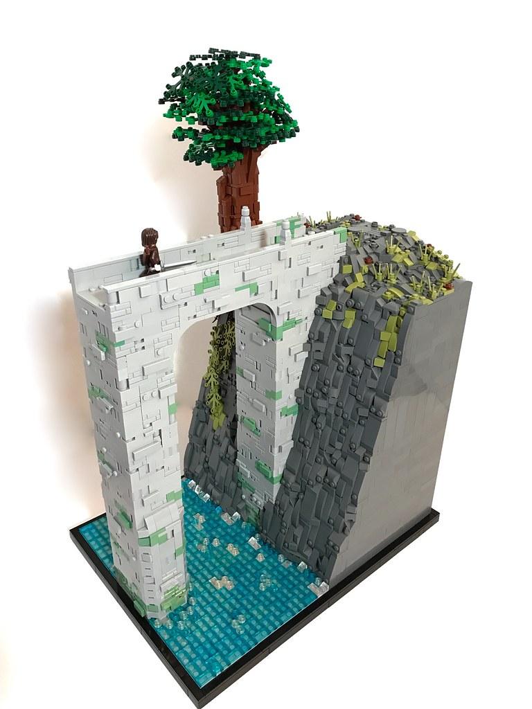 The Bridge to Doriath (custom built Lego model)