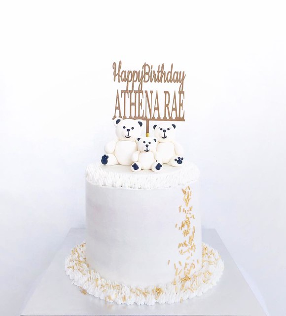 Birthday Cake by Mark Lou Marquez of Soft Peaks Confections