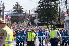 2017 Boston Marathon Start Line