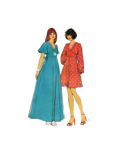 Style 4486 70s dress pattern