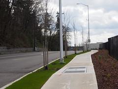 Freeman Road: Widened