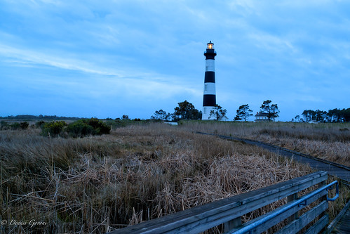 bluehour capehatteras landscape lighthouse northcarolina outerbanks nagshead unitedstates us