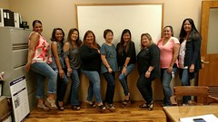 Hawaii Electric Light supports National Denim Day - April 26, 2017: Customer Service group in Hilo
