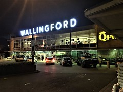 QFC Wallingford at Night