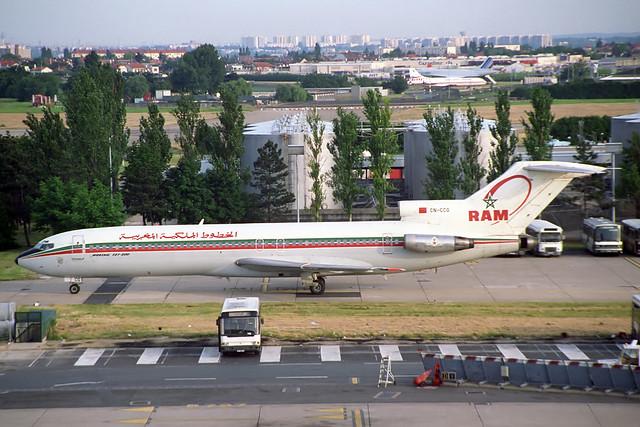 CN-CCG Boeing 727-2B6 Royal Air Maroc