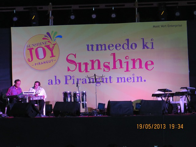 Bela Shende Live at the Launch of Mont Vert Homes' Sunshine Joy, 1 BHK & 2 BHK Flats at Pirangut Chowk, Pune 412108