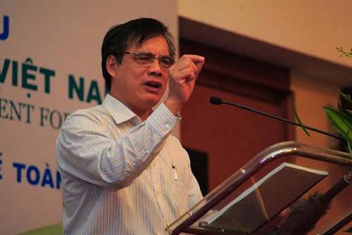 PGS.TS Trần Đình Thiên, Viện trưởng Viện Kinh tế Việt Nam