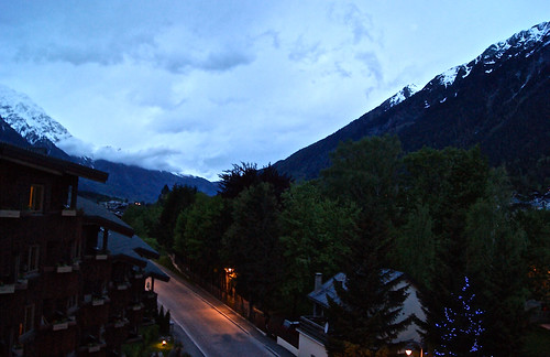 Chamonix at night 1