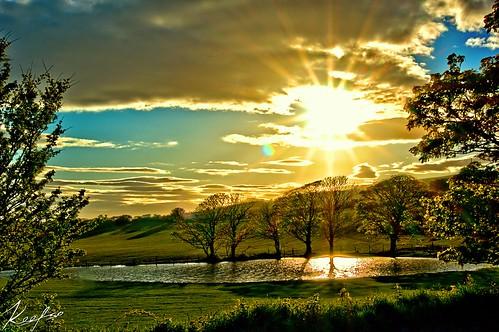 sunset isleofman