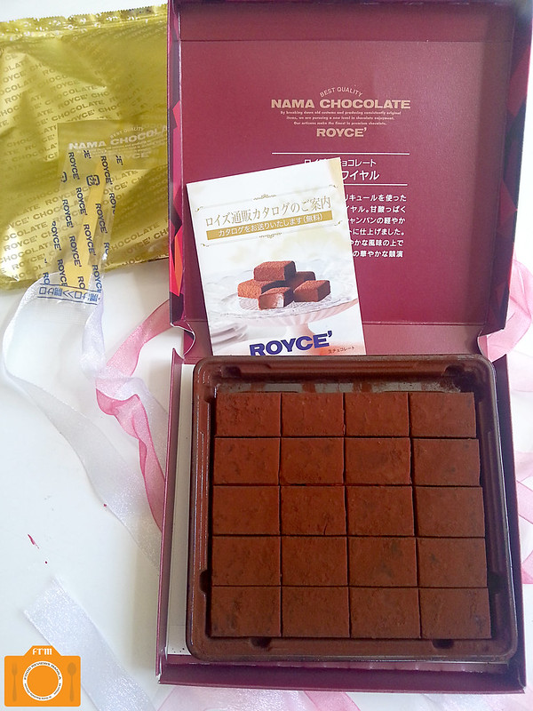 Royce' Nama Kir Royal open box