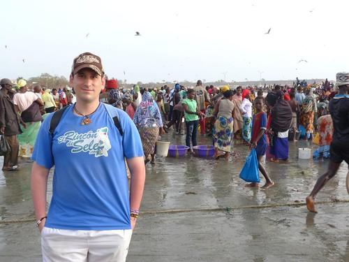 En el mercado de Tanji (Gambia)