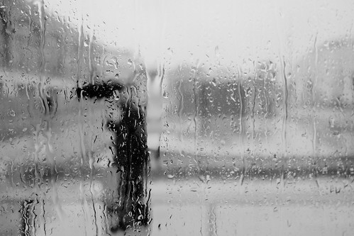 The rain came down in sheets