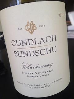 2011 Gundlach Bundschu Chardonnay