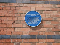 Photo of Arthur Henry Mee blue plaque