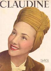 claudine n9 1945