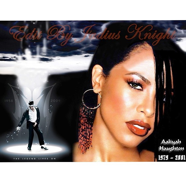 The gallery for --> Aaliyah And Michael Jackson
