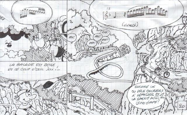 Synopsis de Bob De Groot pour Leonard T44 © Bob de Groot / Le Lombard
