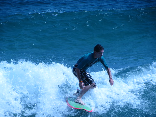Luke surfing