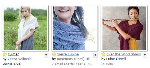 Friday Fave Shawls - 7-5-13