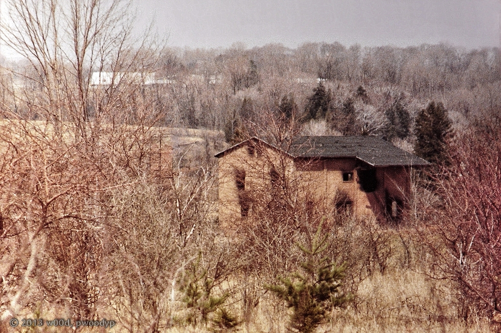 Old Brick Works Terra Cotta, Caledon ~ Late Fall 1985