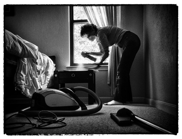 Woman's Work is Never Done - Damn Dust!
