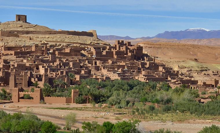 Kasbah Ait Benhaddou en Marruecos