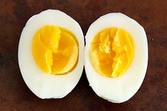 1-minute hard boiled egg