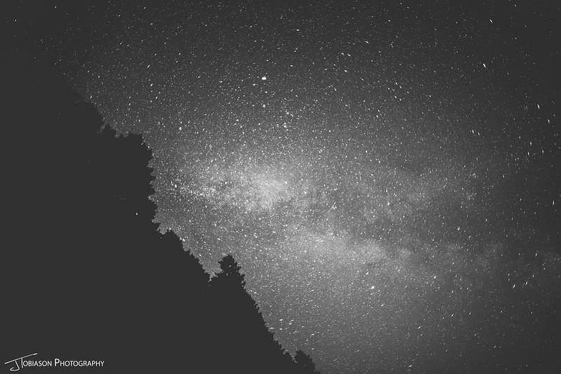 Night Sky Orcas Island