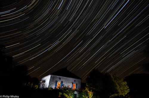 Clavelaires Star Trails