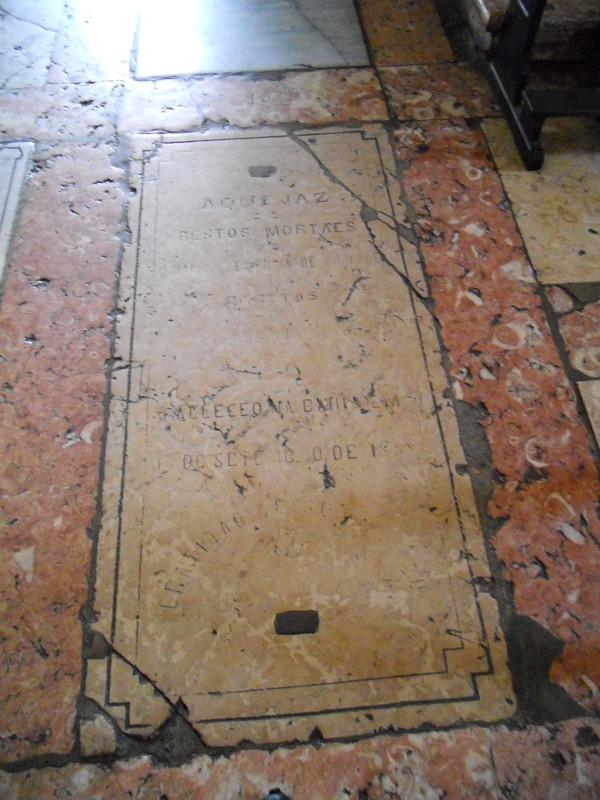 Túmulo não preservado, Igreja de São Francisco, Salvador (BA)