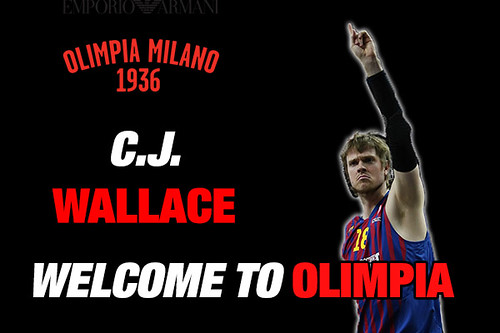 Olimpia: here is CJ Wallace!