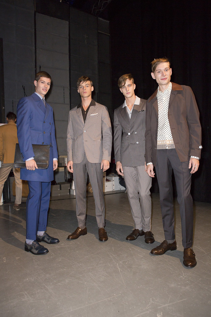 Robbie Wadge3653_SS14 Milan Canali_Sascha Weissenborn, James Smith, Aiden Andrews(fashionising.com)