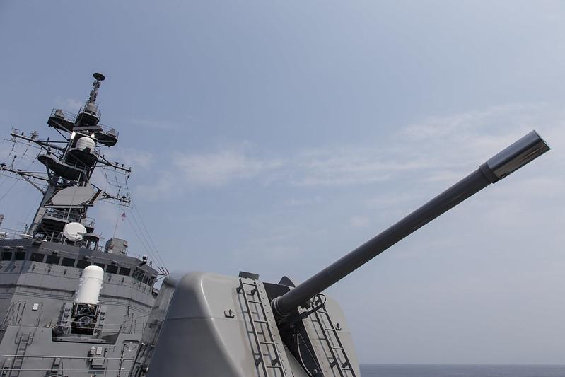 海上自衛隊 舞鶴地方隊 展示訓練(護衛艦体験航海)2013