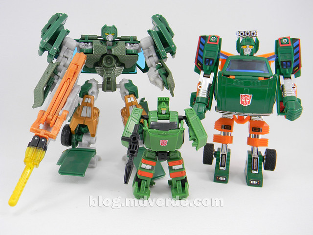 Transformers Hoist Legends - Generations GDO - modo robot vs G1 vs RotF