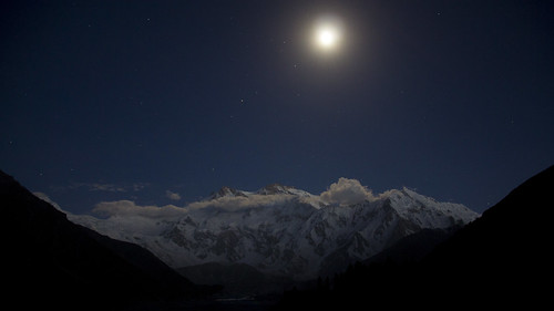 Nanga Parbat by moonlight by nofil naqvi