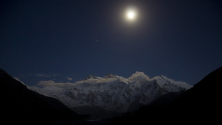 Nanga Parbat by moonlight