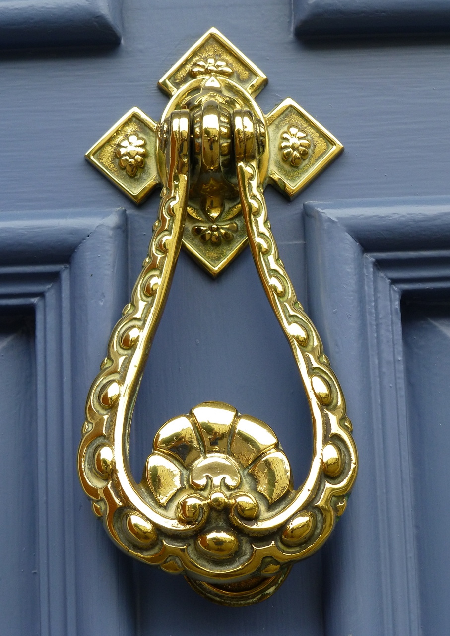 This Striking Cat Door Knocker Is Probably A Symbol Of Good Luck. The Only  Picture I Could Find Online Of A Similar Design Was From Malaysia.