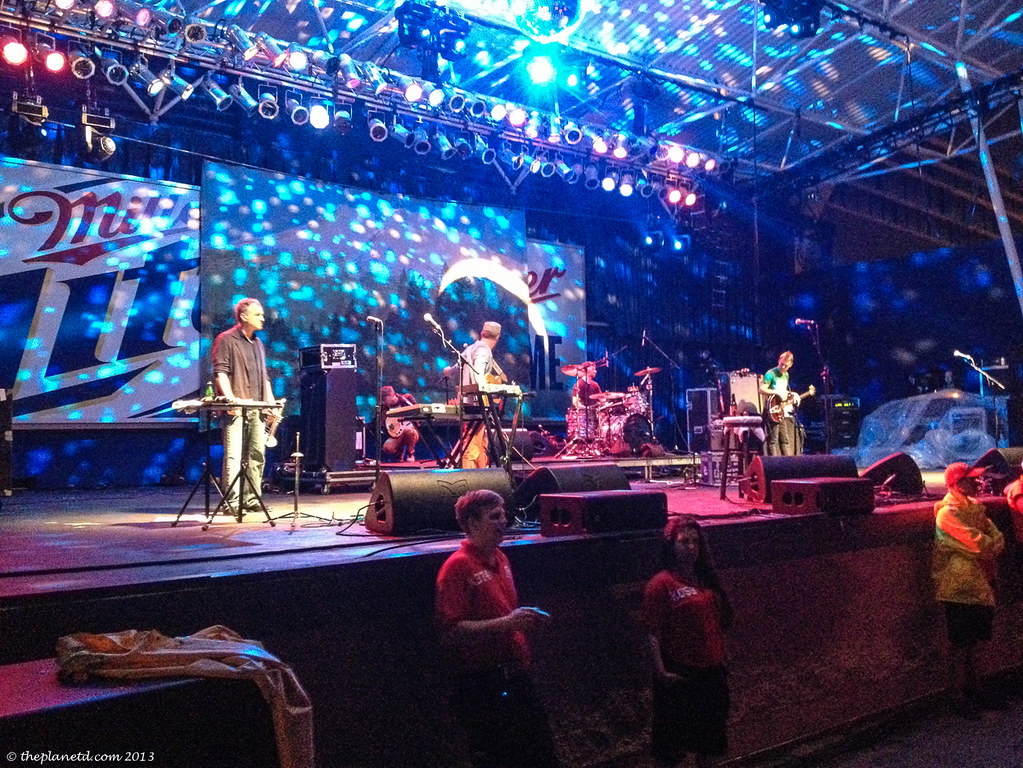 Front row at Cake, Summerfest