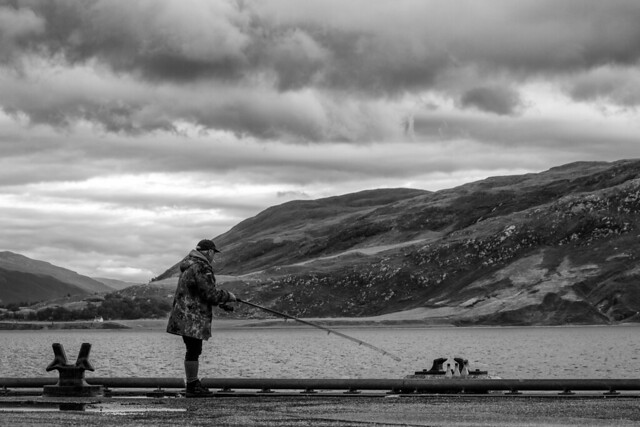 The Fisherman - Ullapool Harbor in Scotland