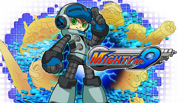 Mighty-no-9-logo-robot