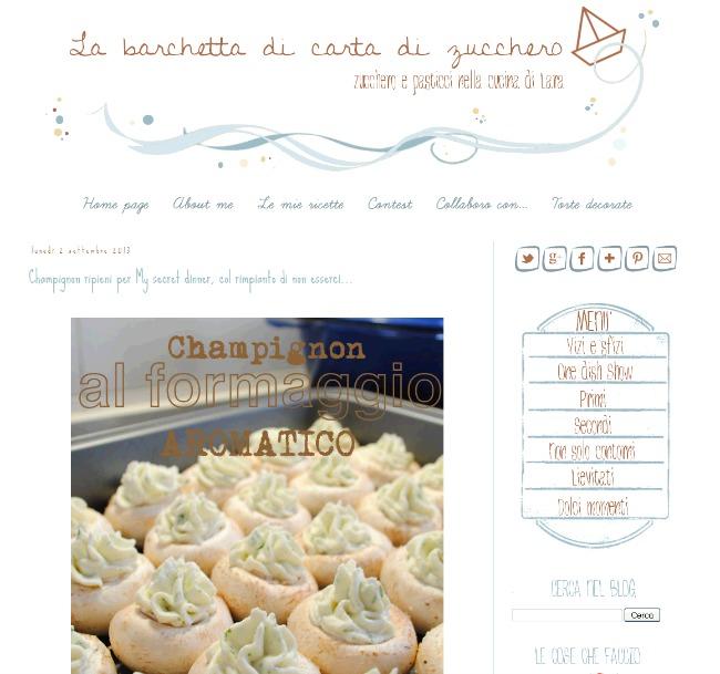 'La barchetta di carta di zucchero' - www_labarchettadicartadizucchero_com